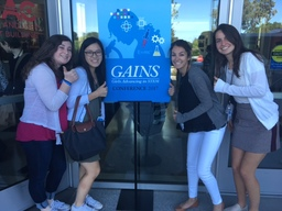 Students Attend GAINS Conference