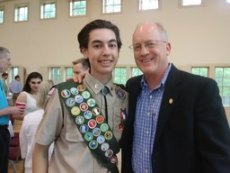 Ryan Lynch '20 Earns Eagle Scout Award