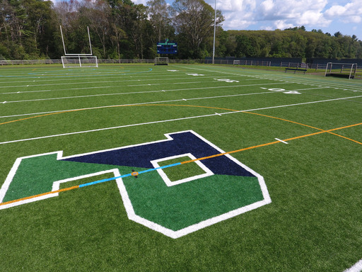 Under the Lights: Pingree Unveils New Turf Field