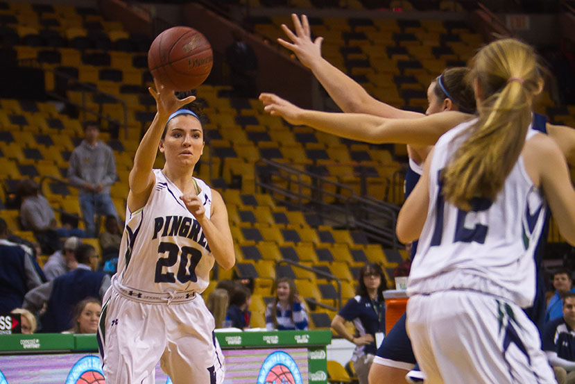 Pingree Girls Basketball Plays at TD Garden