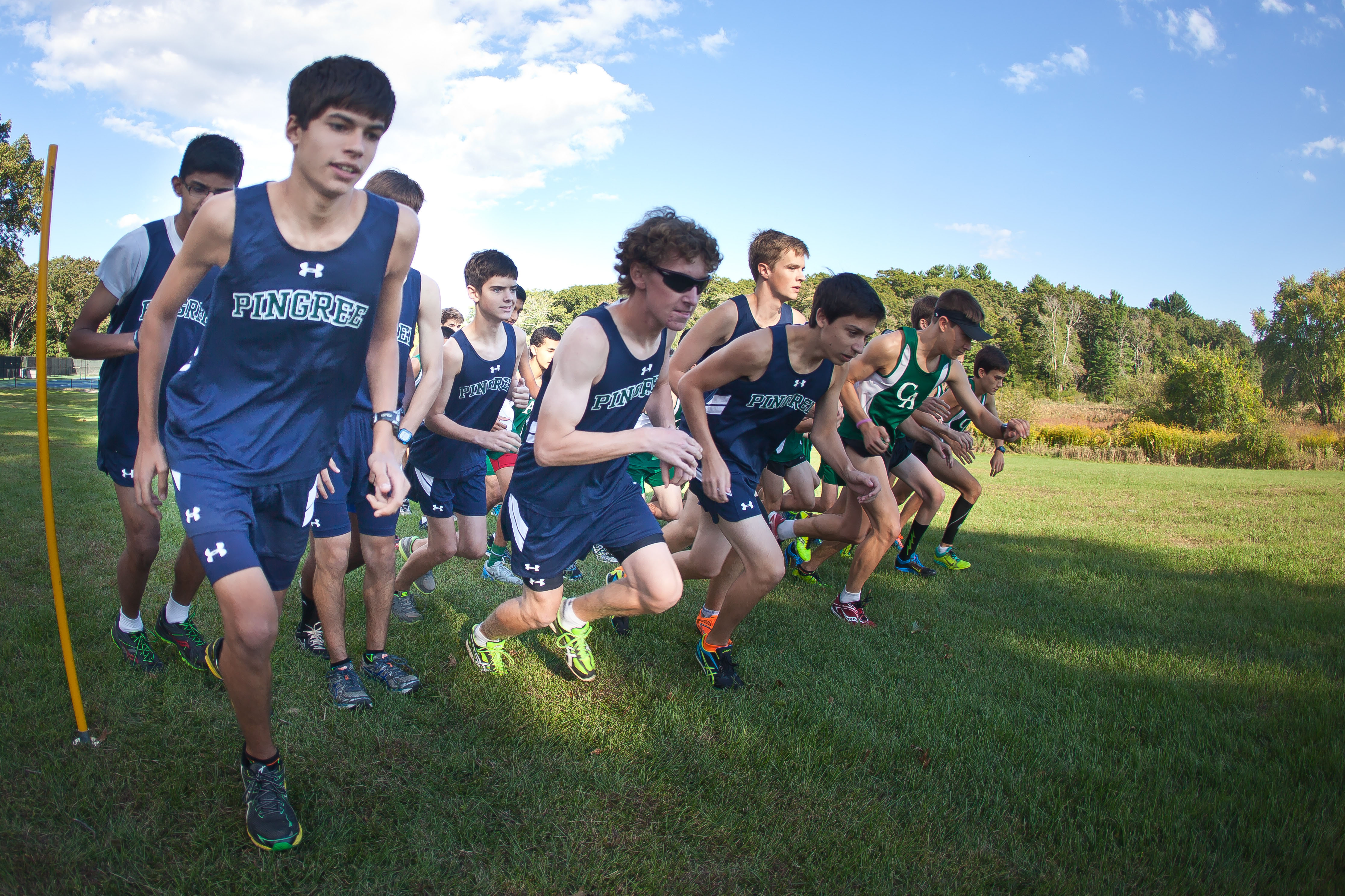 Pingree boys cross country meet