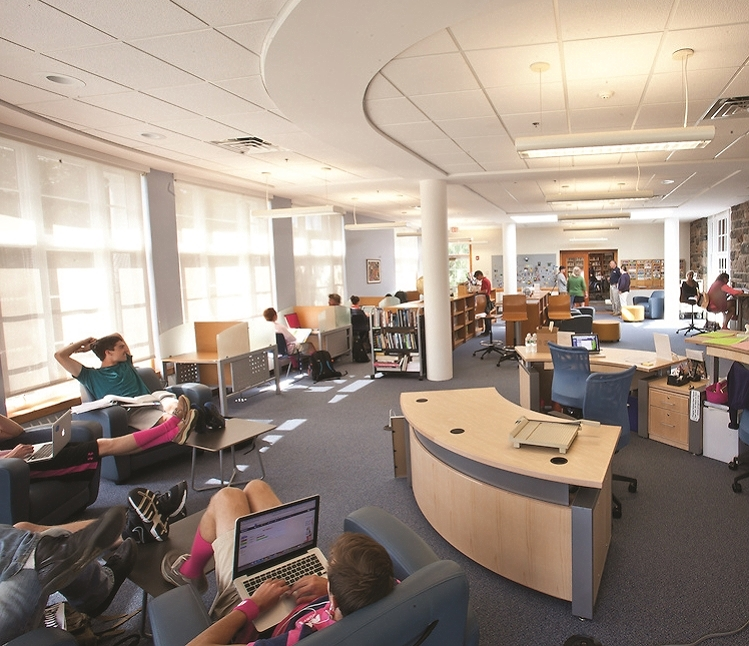 Pingree Library Learning Commons