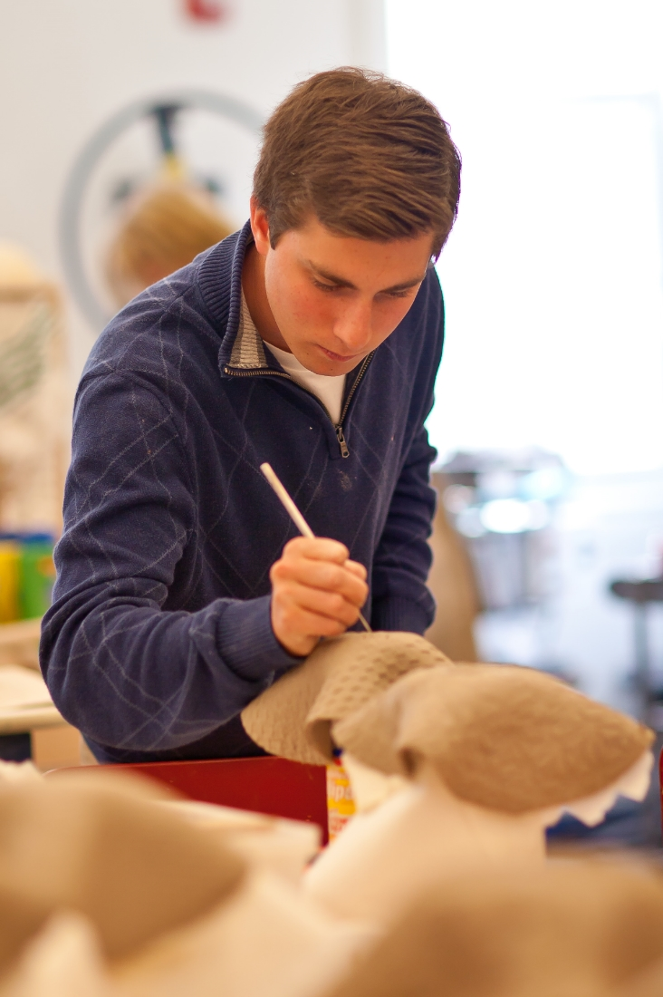 Pingree Ceramics Student