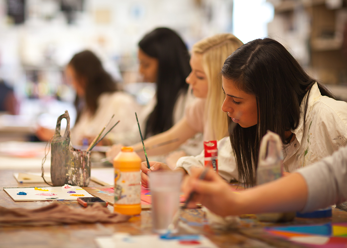 Pingree painting class