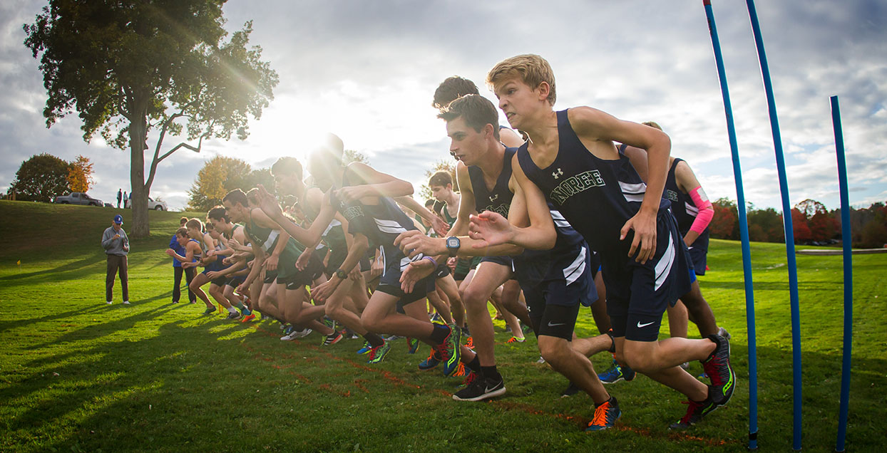 Pingree Boys Cross Country Start