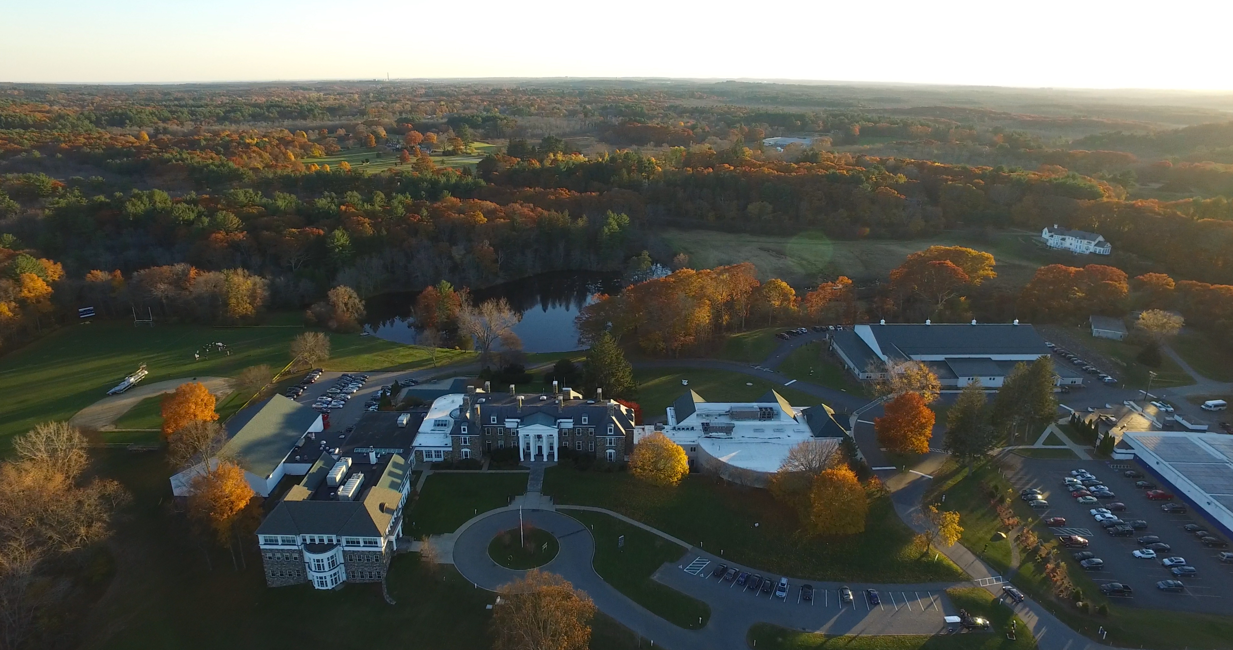 Pingree Aerial Campus Photos