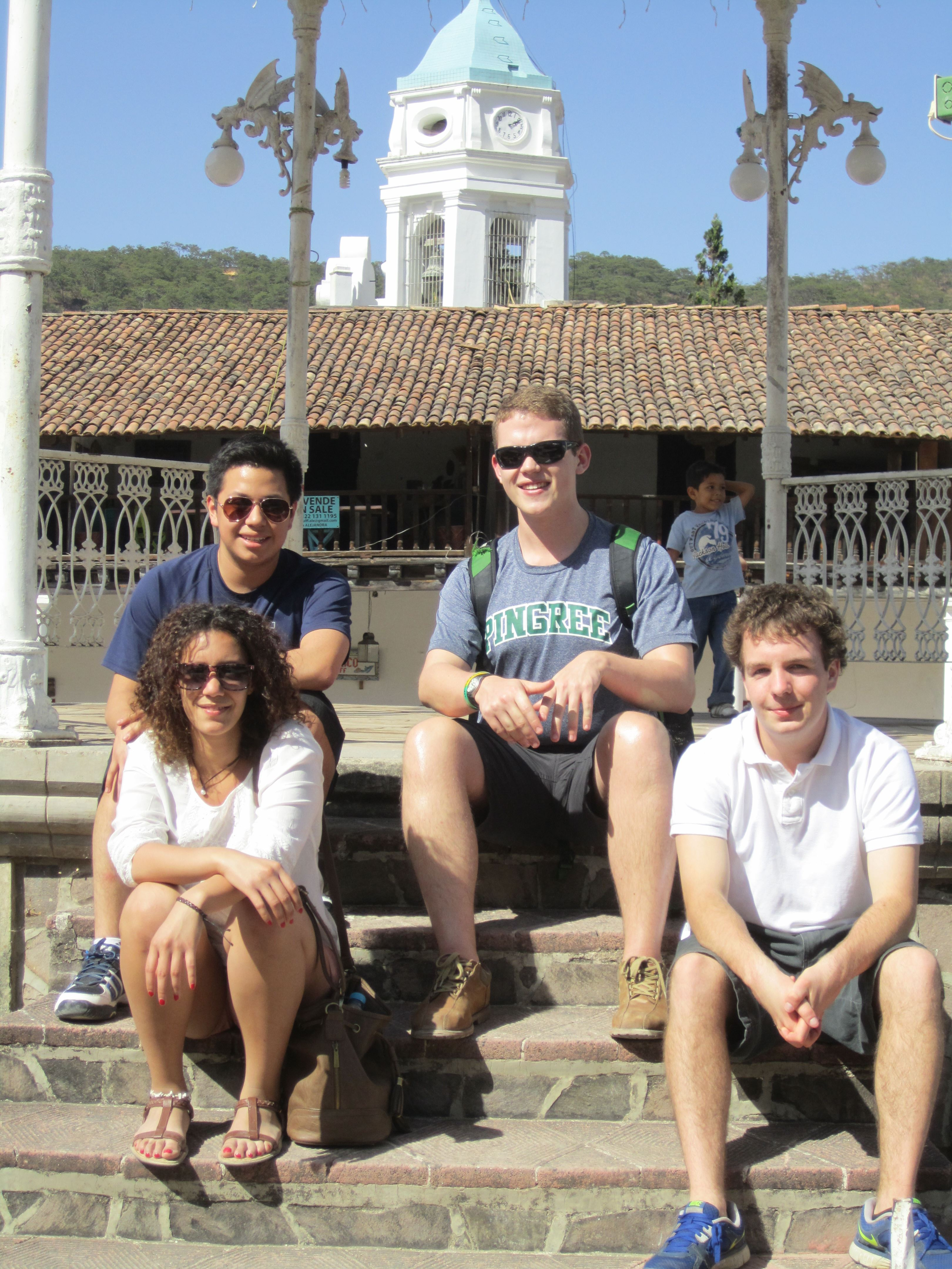 Pingree students in Mexico