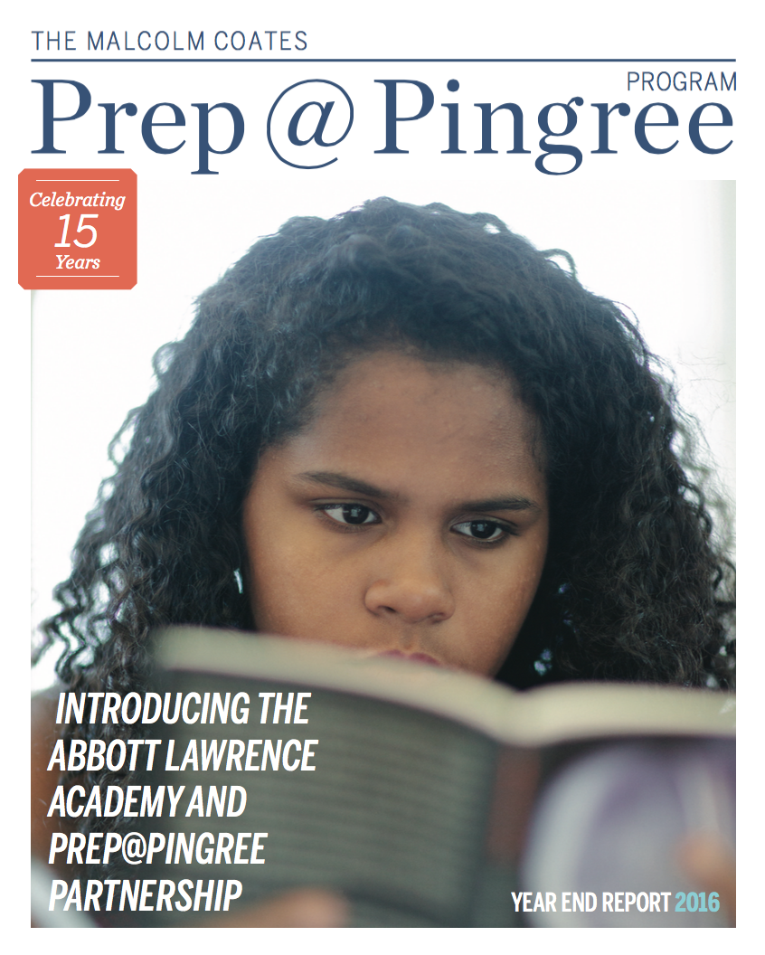 2015-2016 Prep@Pingree Year-End Report